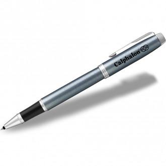 Parker IM RollerBall Pens Light Blue Grey CT