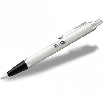Parker IM Ballpoint Pens White Lacquer CT