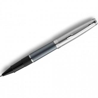 Waterman Embleme Rollerball Pens Deluxe Grey CT