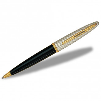 Waterman Carene Ballpoint Pens Deluxe Black Lacquer GT