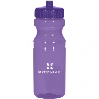 Poly-Clear 24 Oz. Fitness Bottles