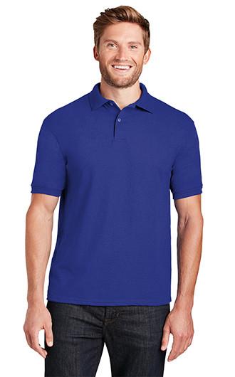Hanes EcoSmart - 5.2-Ounce Jersey Knit Sport Shirt