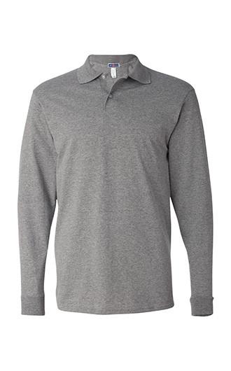 JERZEES - SpotShield 50/50 Long Sleeve Sport Shirt