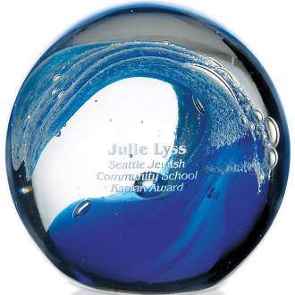 Wave Art Glass Award