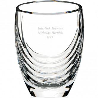 Siena Clear Crystal Vase