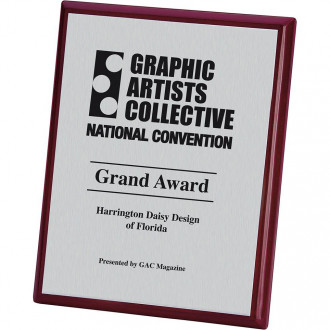 8x10 Connection Plaque - Rosewood