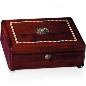 Rosewood Inlaid Rectangular Box