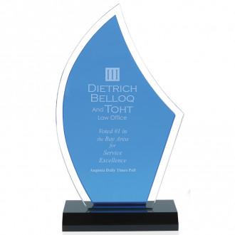 Acrylic Sailboat Award