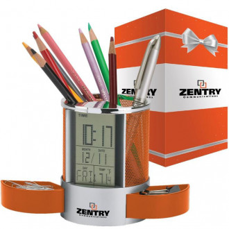 Impressa Clock/Organizer & Packaging
