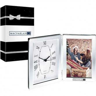 Jadis I Desk Clock & Photo Frame & Packaging