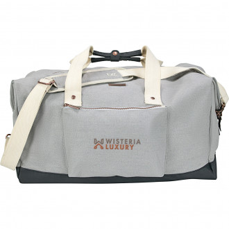Embroidered Duffels