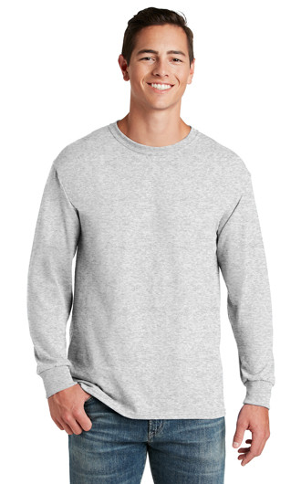JERZEES - Dri-Power 50/50 Cotton/Poly LS T-shirts