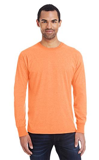 Hanes Men's 4.5 oz., 60/40 Ringspun Cotton/Polyester X-Temp Long