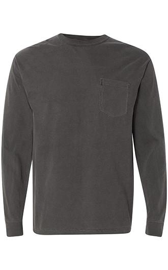 Comfort Colors - Garment-Dyed Heavyweight LS Pocket T-shirts