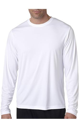 Hanes Adult Cool DRI with FreshIQ LS Performance T-shirts