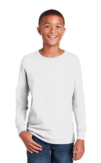 Gildan?Youth Heavy Cotton?100% Cotton LS T-shirts
