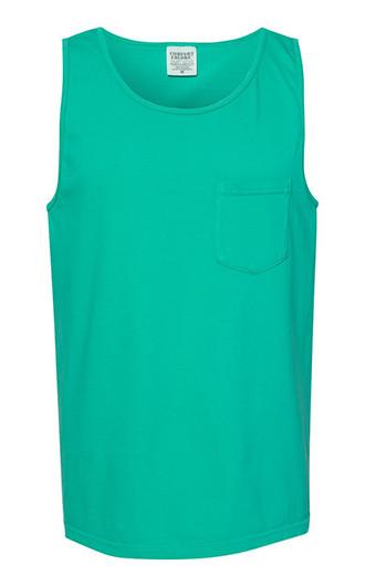 Comfort Colors - Garment-Dyed Heavyweight Pocket Tank Tops