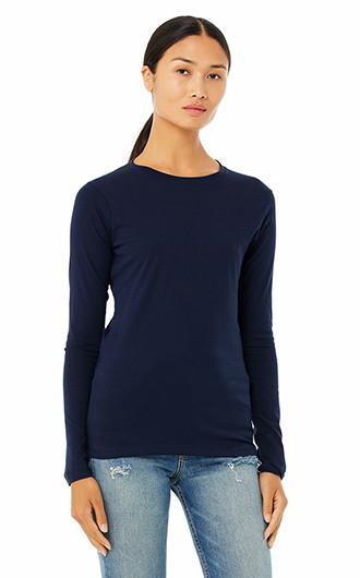 Bella  Canvas Ladies' Jersey Long-Sleeve T-shirts