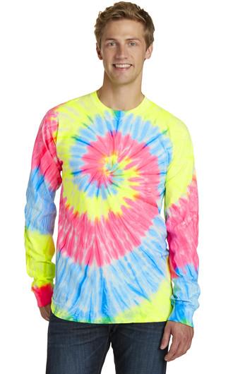 Port & Company?Tie-Dye Long Sleeve T-shirts