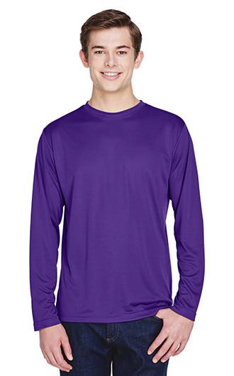 Team 365 Men's Zone Performance Long-Sleeve T-shirts