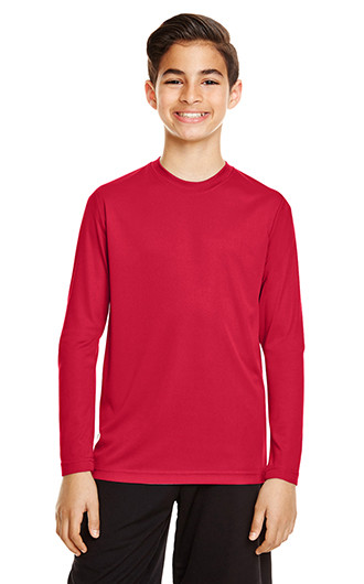 Team 365 Youth Zone Performance Long-Sleeve T-shirts