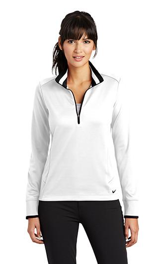 Nike Ladies Dri-FIT 1/2-Zip Cover-Up