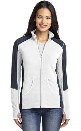 Port Authority Ladies Colorblock Microfleece Jackets