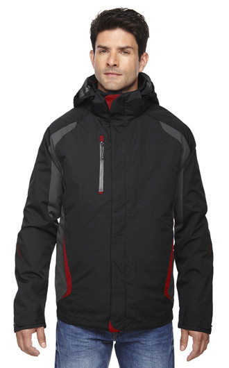 North End Men's Height 3-In-1 Jackets with Insulated Liner