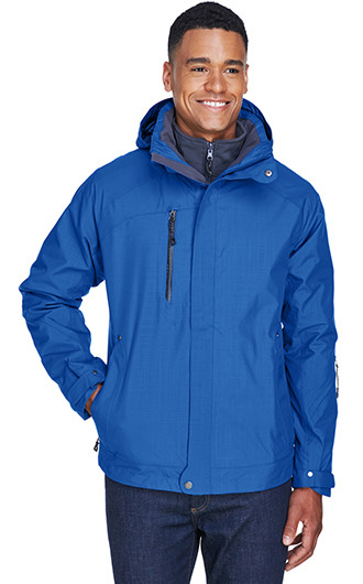 North End Men's Caprice 3-In-1 Jackets with Soft Shell Liner