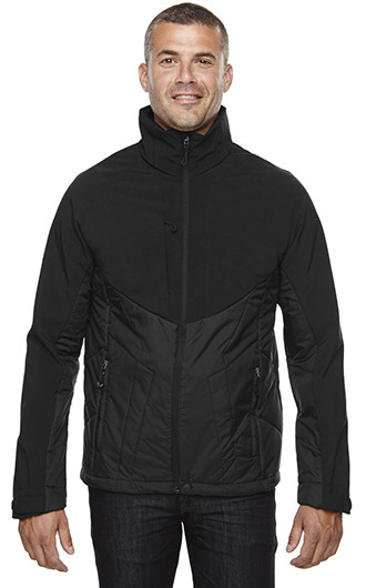 North End Men's Innovate Insulated Hybrid Soft Shell Jackets