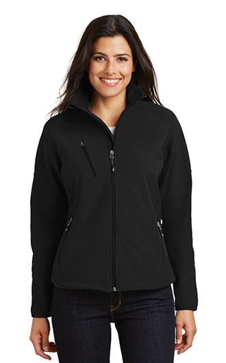 Port Authority Ladies Textured Soft Shell Jackets