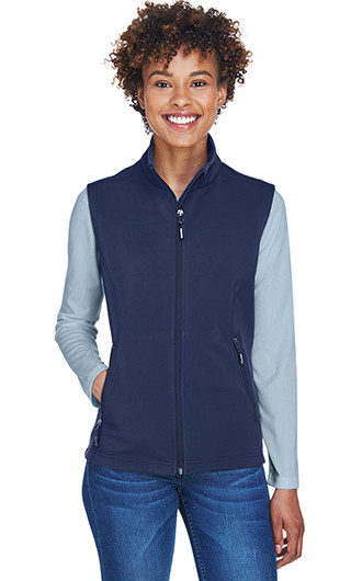 Core 365 Women's Cruise Two-Layer Fleece Bonded Soft Shell Vests