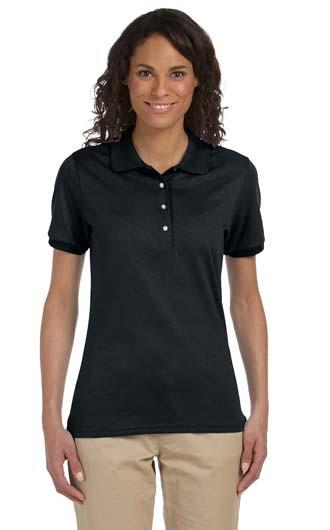Jerzees Ladies' 5.6 oz. SpotShield Jersey Polo