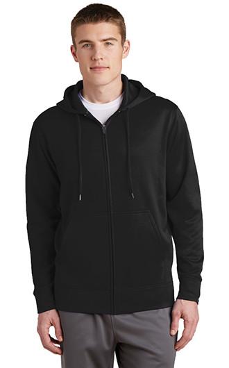 Sport-Tek Sport-Wick Fleece Full Zip Hooded Jac