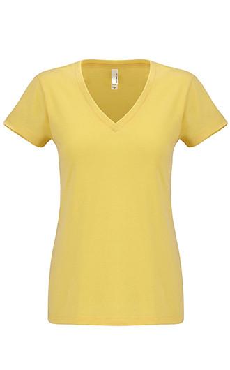 Next Level Ladies' Sueded V-Neck T-shirts