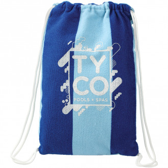 Microfiber Beach Blankets with Drawstring Pouch