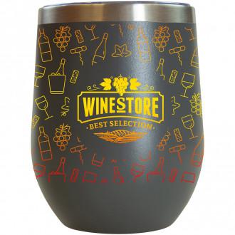 12 oz. Sipper Wine Tumbler Full Color