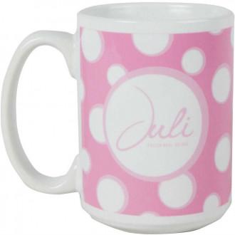 15 oz. Sublimated Ceramic Mugs