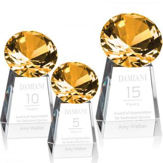 Celestina Gemstone Award Amber