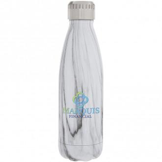 16 Oz. Marbled Swiggy Bottles Full Color