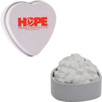 Small Heart Tins - Sugar Free