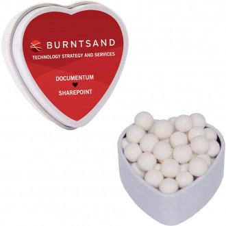 Small Heart Tins - Sugar Free (Full Color)
