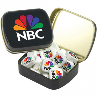 Small Tins With Printed Mints