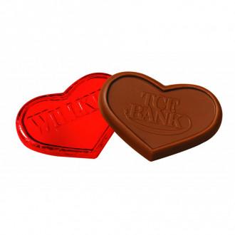1 oz. Foiled Chocolate Hearts