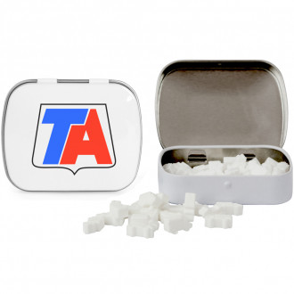 Domed Tins with Truck Shaped Mints