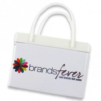 White Shopping Bag Tins