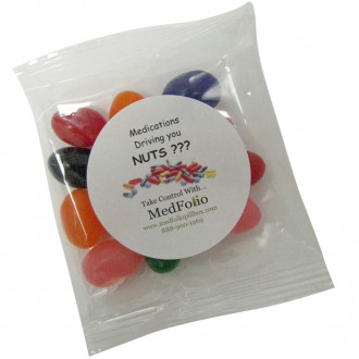 1oz. Goody Bags - Jelly Beans