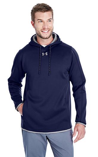 Under Armour Men's Double Threat Armour Fleece Hooded Sweatshirt