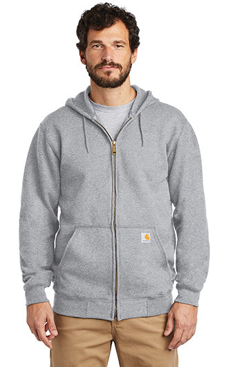 Carhartt Midweight Hooded Zip Front Sweatshirt