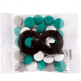 Single Color Custom Printed Pack- 1Oz. Color Choice M&M'S